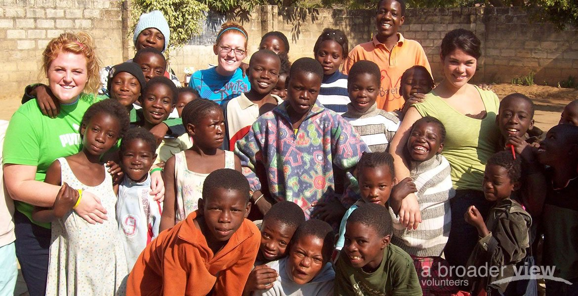 Volunteer in Zambia