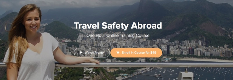 volunteer certificates - Travel Safety Abroad - 1 Hour Training