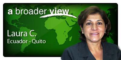 Laura Coordinator Ecuador Quito