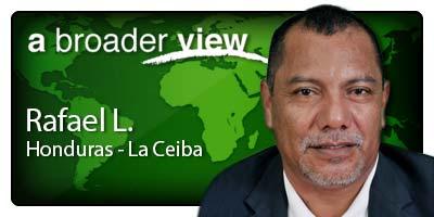 Rafael Coordinator Honduras