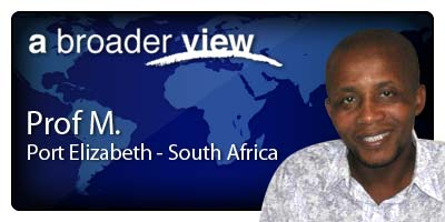 Prof Coordinator South Africa