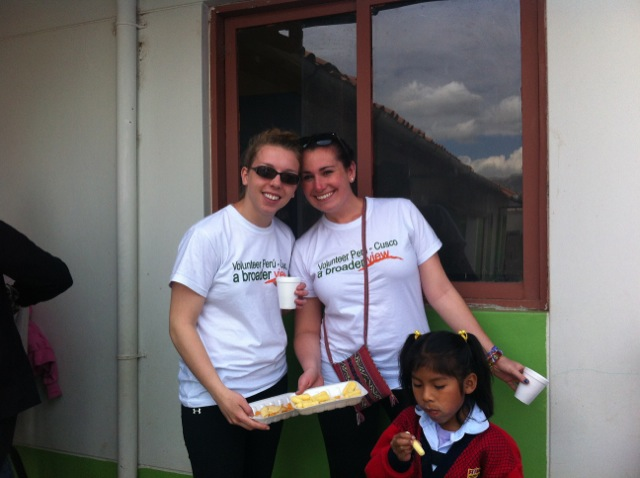 Carolyn Volunteer Cusco Peru 01