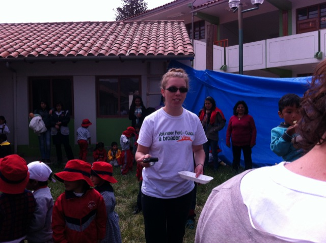 Carolyn Volunteer Cusco Peru 02