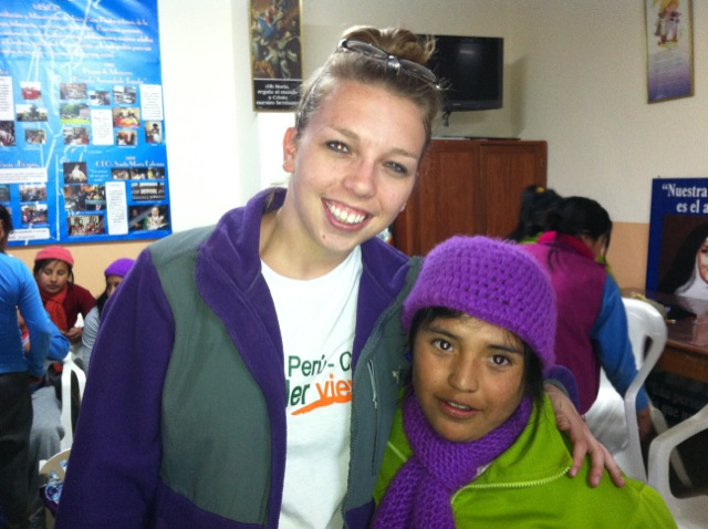 Carolyn Volunteer Cusco Peru 04