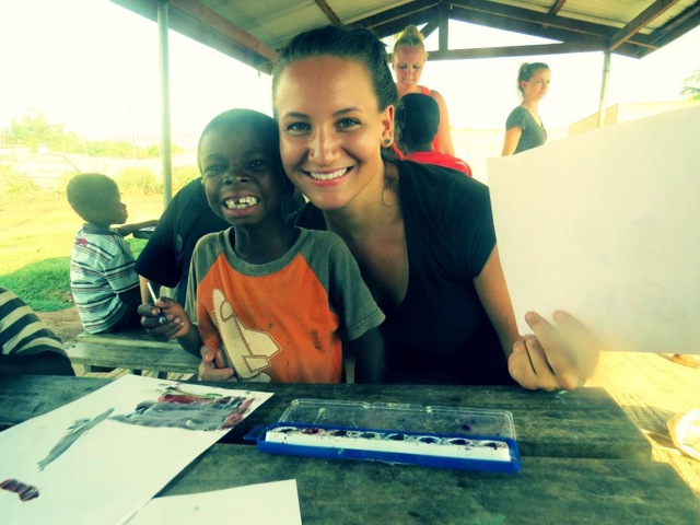Courtney Volunteer Kpando Ghana 01