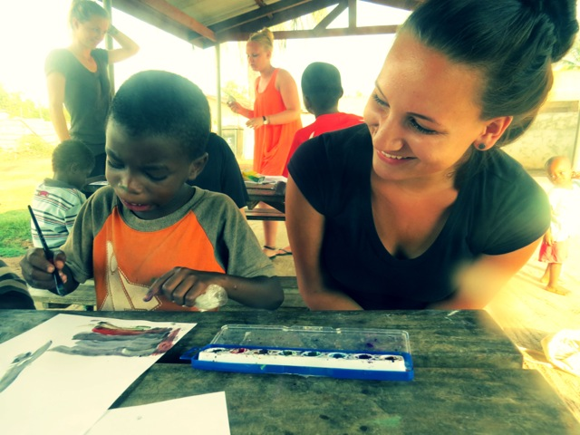 Courtney Volunteer Kpando Ghana 02