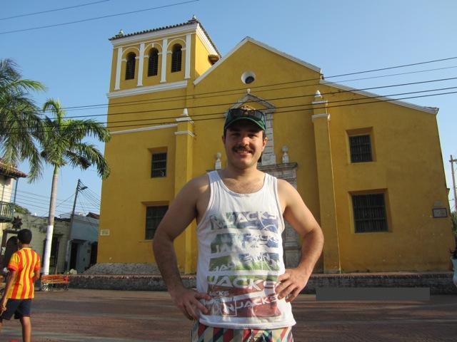 Craig Volunteer Colombia Cartagena 01