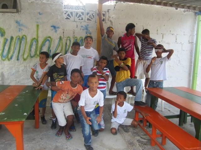 Craig Volunteer Colombia Cartagena 02