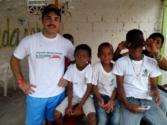 Craig Volunteer Colombia Cartagena 04