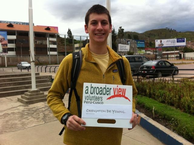 Creighton Volunteer Cusco Peru 01