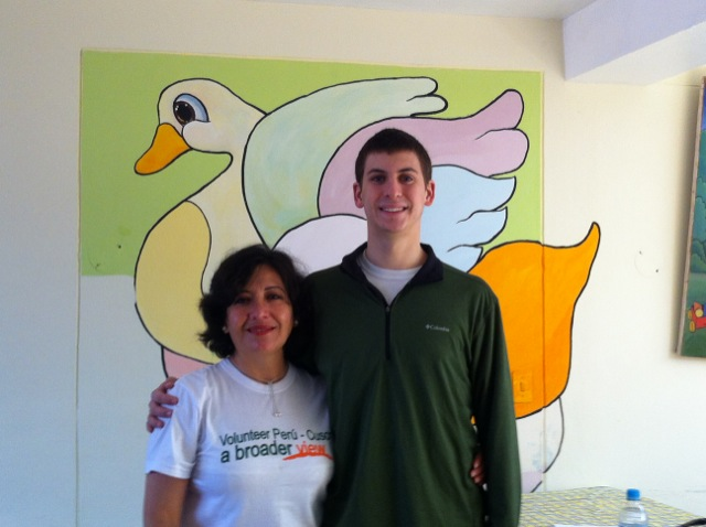 Creighton Volunteer Cusco Peru 02