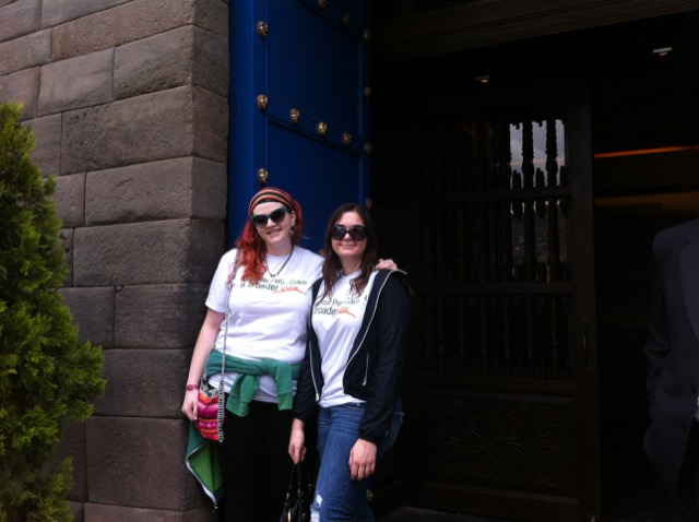 Danielle Stryker Volunteer In Cusco Peru Nursery And Girls Orphanage Program 03