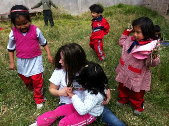 Deissy Volunteer In Cusco Peru 02