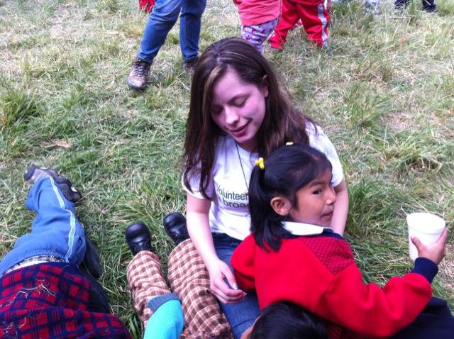 Deissy Volunteer In Cusco Peru 03