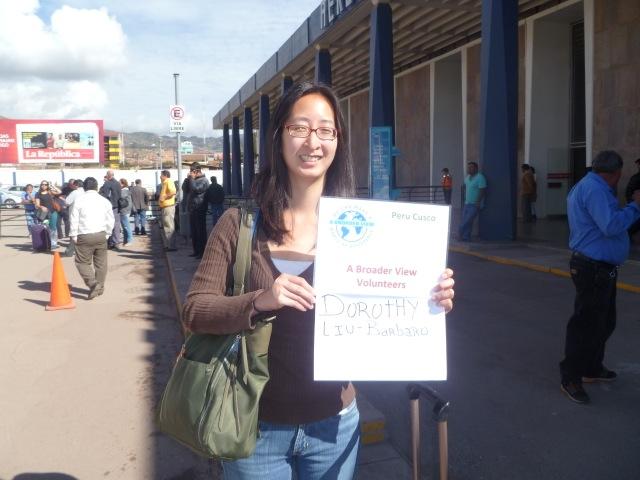 Dorothy Volunteer Cusco Peru 02