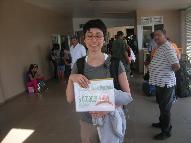 Erica Volunteer Honduras La Ceiba 01