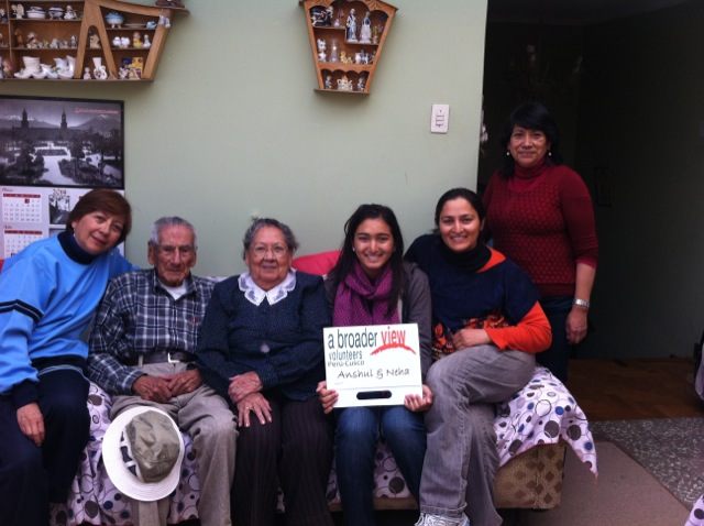 Feedback Anshu Jain Volunteer Cusco Peru 02