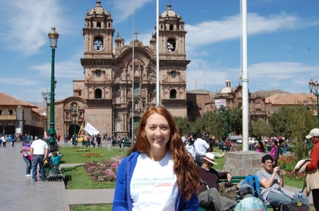 Feedback Faustina Beckie Volunteer in Cusco, Peru