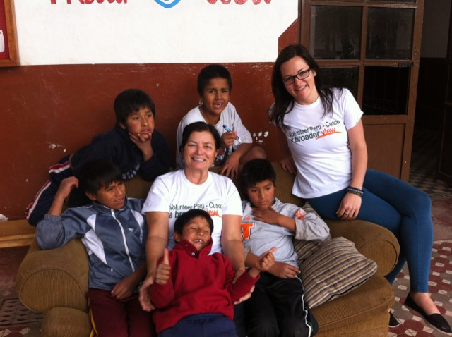 Jude Volunteer In Cusco Peru Girls Orphanage And Daycare Program 05