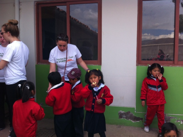 Katherine Volunteer In Cusco Peru 03