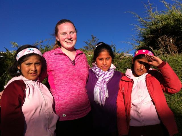 Lauren Volunteer In Cusco Peru 01