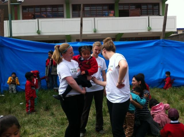 Lauren Volunteer In Cusco Peru 03