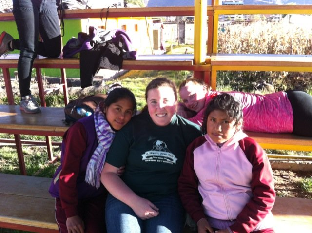 Molly Volunteer In Cusco Peru 01