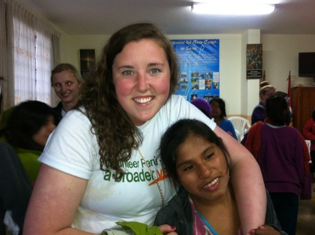 Molly Volunteer In Cusco Peru 04
