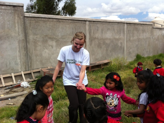 Nicole Volunteer Cusco Peru 03