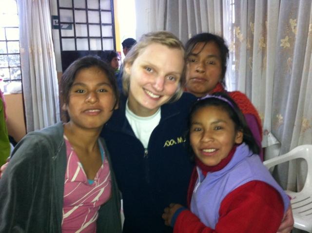 Nicole Volunteer Cusco Peru 04