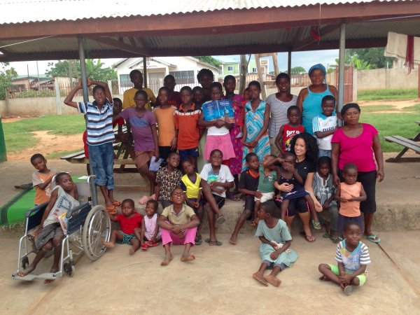 Review Gina Montesdeoca Volunteer Volta Region Ghana Orphanage Child Care 1