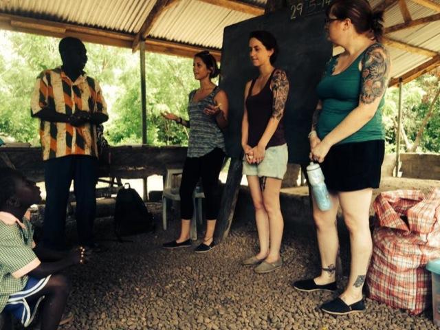 Stephanie Volunteer Kpando Ghana 01