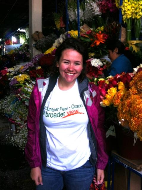 Victoria Volunteer Cusco Peru 01