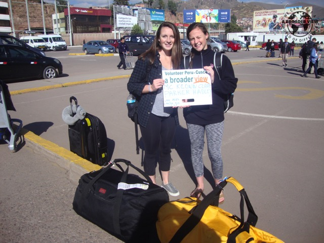 Feedback Hadley Parker Volunteer in Cusco, Peru