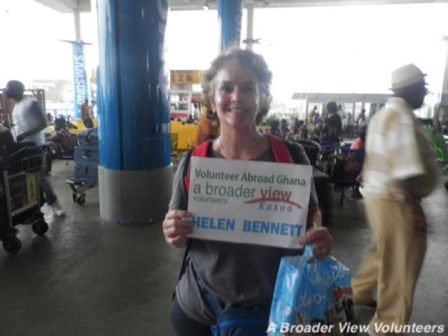 Feedback Helen Bennett Volunteer Kasoa Ghana 01