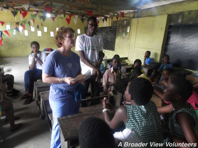 Feedback Helen Bennett Volunteer in Kasoa, Ghana