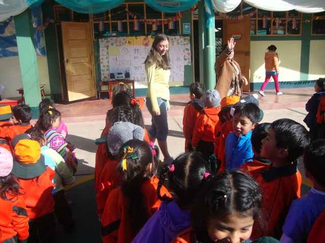 Review Adrianne Volunteer Cusco Peru 02