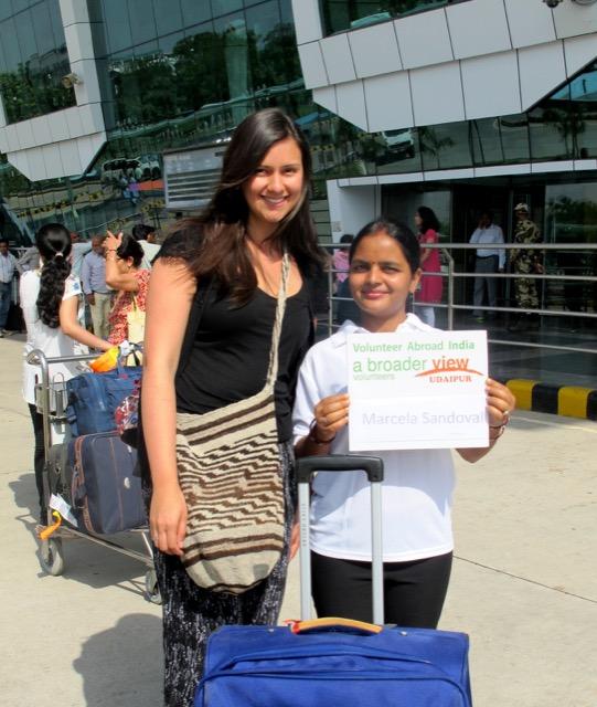 Review Marcela Volunteer Udaipur India 01