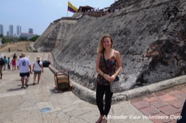 Review Colleen W. Voluteer in Cartagena, Colombia