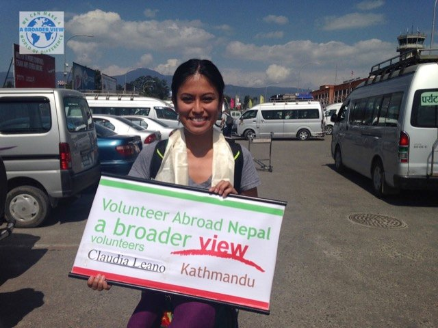Review Claudia Leano Volunteer in Kathmandu, Nepal