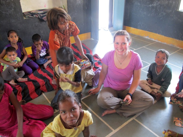 Review Morgan Wadell Volunteer in India Udaipur Children support