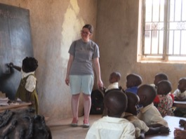 Feedback Amy Divincenzo Volunteer in Bulenga, Uganda