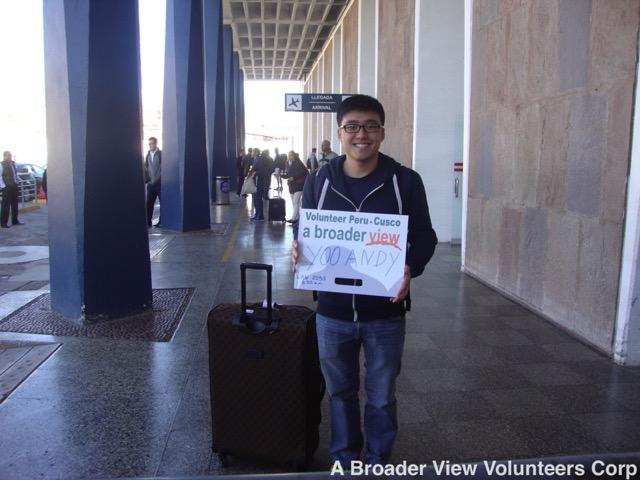 Review Andy Yoo Volunteer Cusco Peru 02