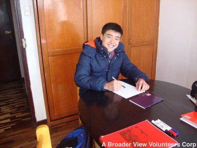 Review Andy Yoo Volunteer Cusco Peru 05