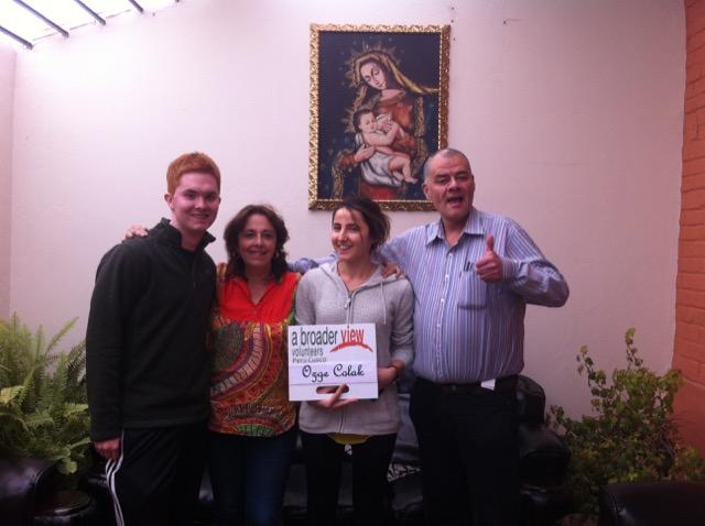 Review Ozge Colak Volunteer  Cusco Peru 02