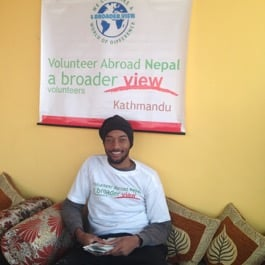 Review Lamario William Volunteer in Nepal Kathmandu
