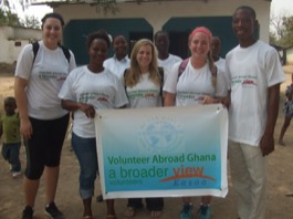 Review Tracy Volunteer in Kasoa, Ghana