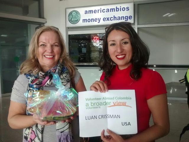 Olunteer Luann Crissman Volunteer Colombia Cartagena 04