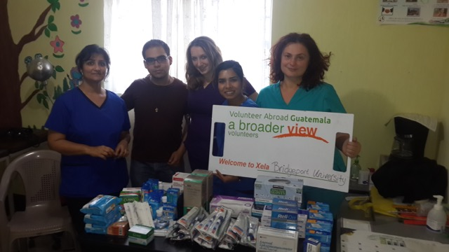 Liliya Tereshchuk in Guatemala Xela Premed Program Bridgeport University