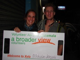Review Nicholas Krejchi Volunteer in Quetzaltenango Guatemala